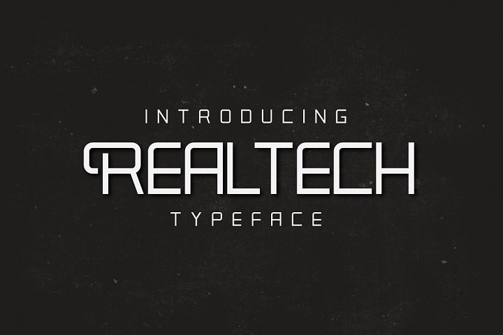 Real Tech Typeface