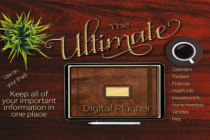 The Ultimate Digital Planner For Your Ipad
