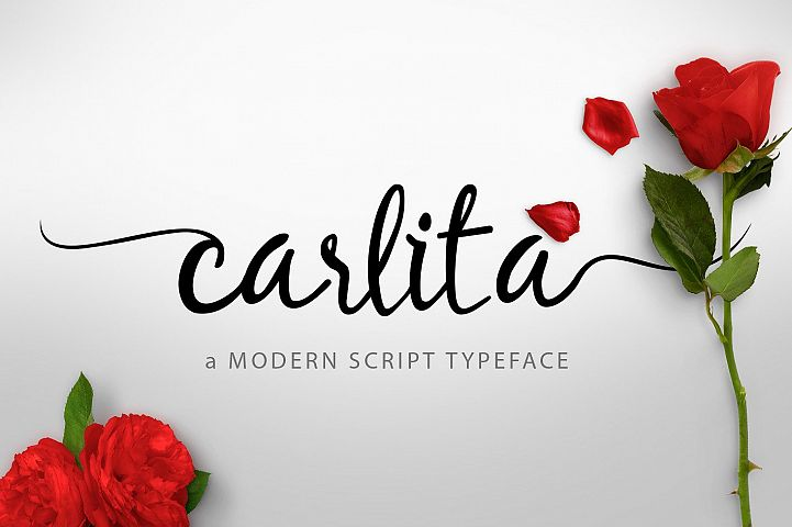 Carlita Script  + Bonus