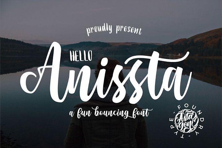 Hello Anissta