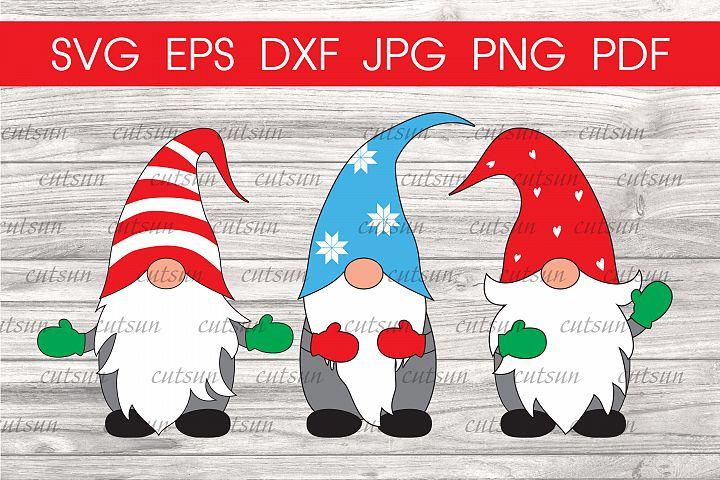 Christmas Gnomes svg | Gnome svg | Christmas svg