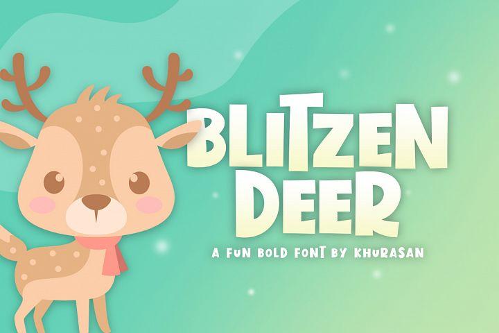 Blitzen Deer