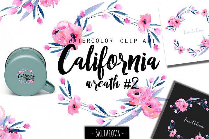 California. Wreath #2
