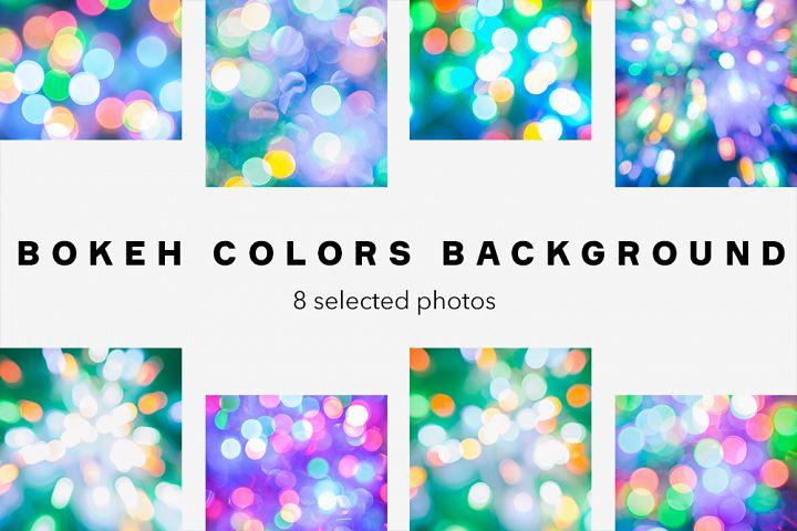 Bokeh Colors Background Bundle