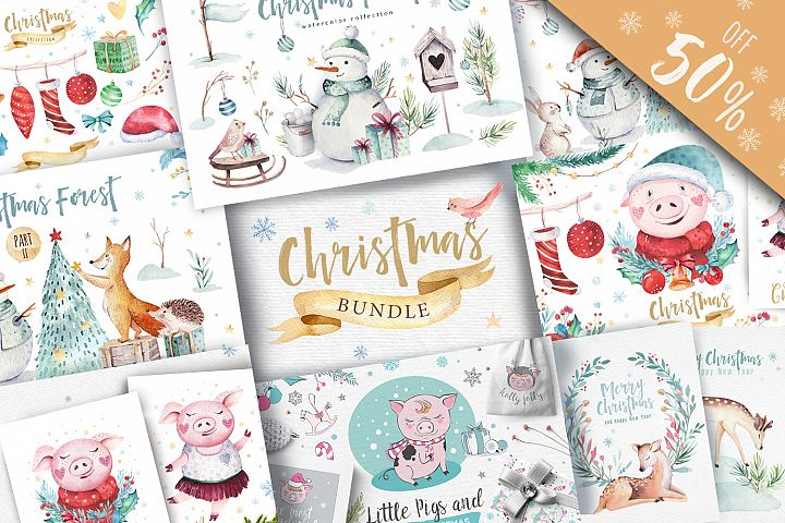 50off Christmas BUNDLE 2019