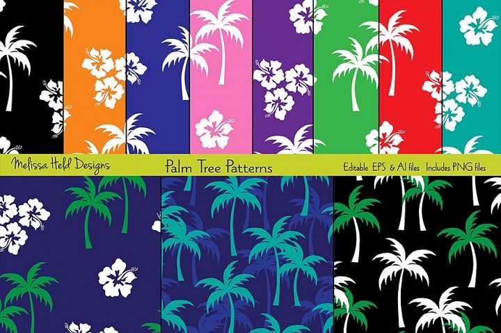 Palm Tree Patterns