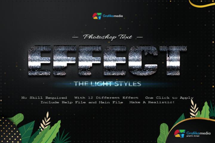 12 Light Styles Photoshop