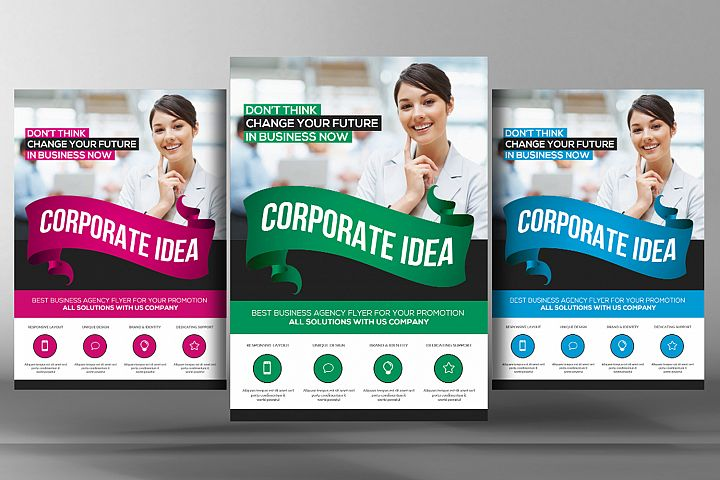 Corporate Business Idea Flyer