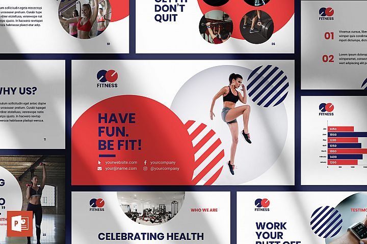 Fitness Trainer/Coach PowerPoint Presentation Template