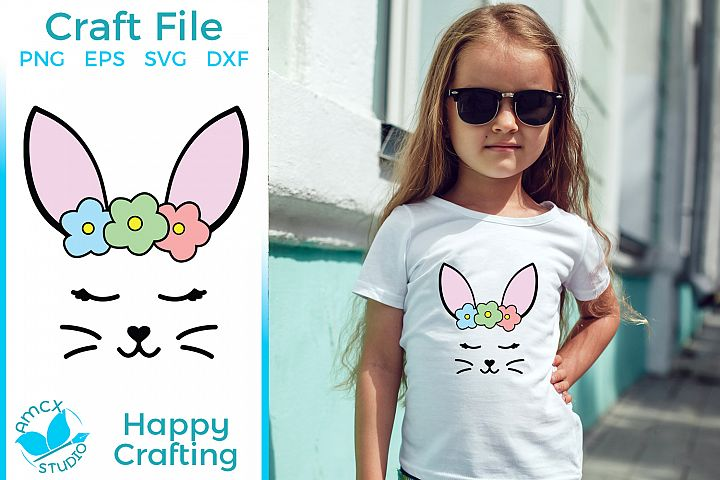 Bunny Ears - A Cute Girly Easter SVG