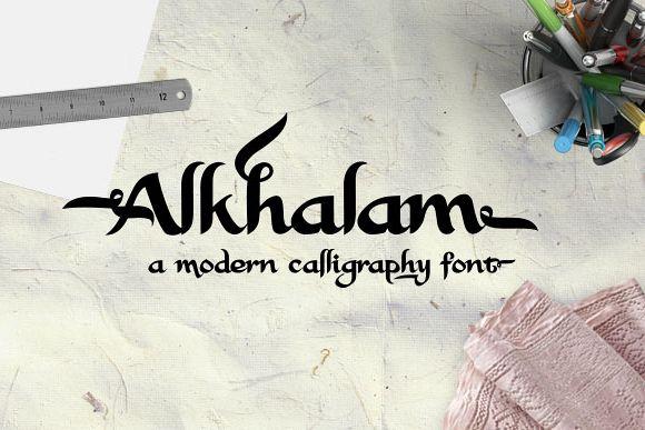 Alkhalam Font