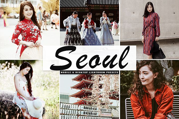 Seoul Mobile & Desktop Lightroom Presets