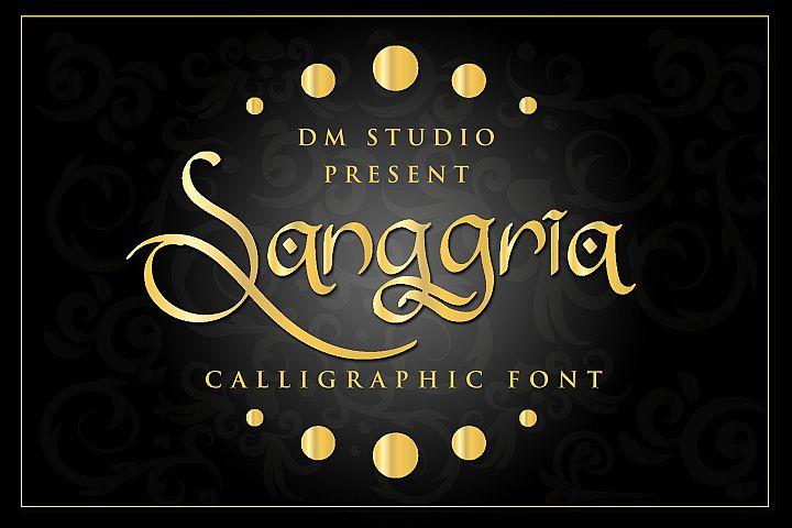 Sanggria - Ornament Font