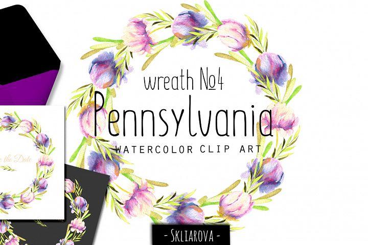 Pennsylvania. Wreath #4