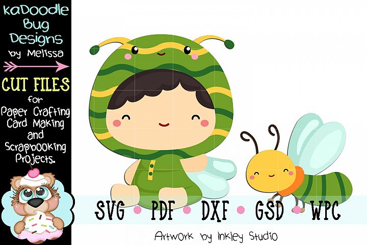 Firefly Cuties Cut File - SVG PDF DXF GSD WPC