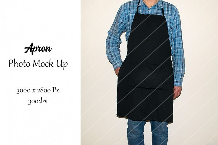 Apron Photo Mock UP