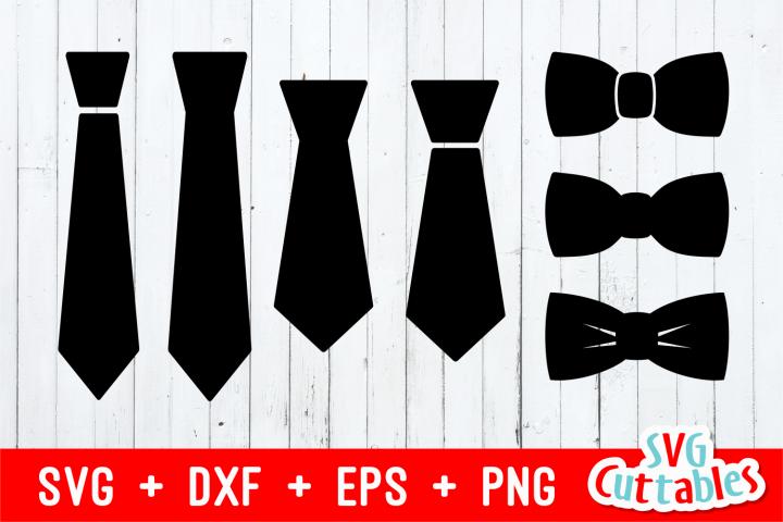 Set of 7 Ties | Cut File