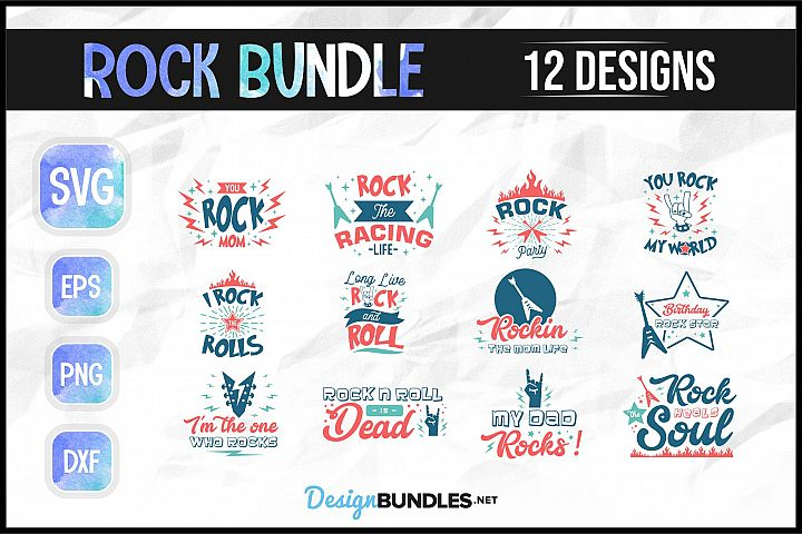 Rock Music SVG Bundle