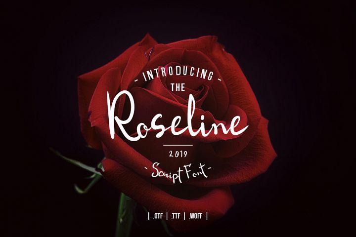 Roseline Script Font