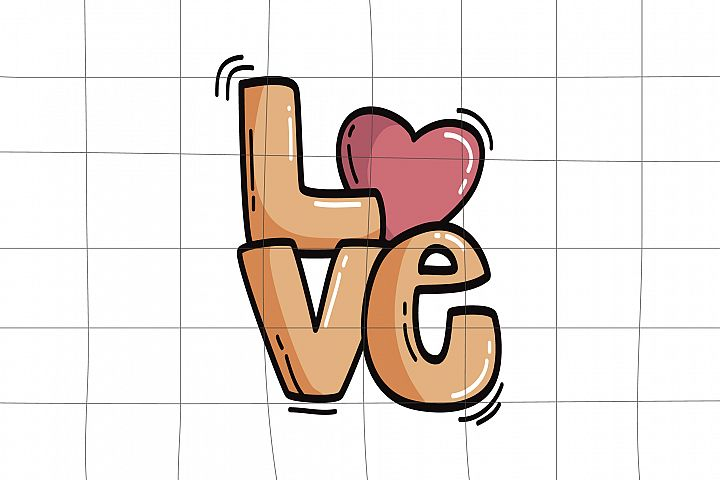 Love svg, printable, love png