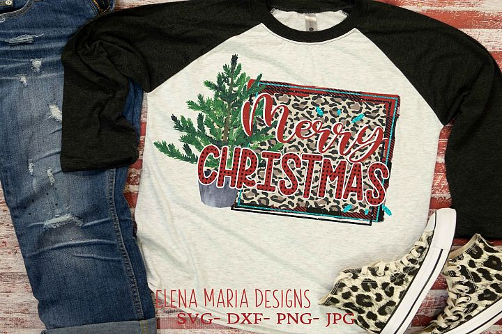 Merry Christmas Printable Sublimation Transfer