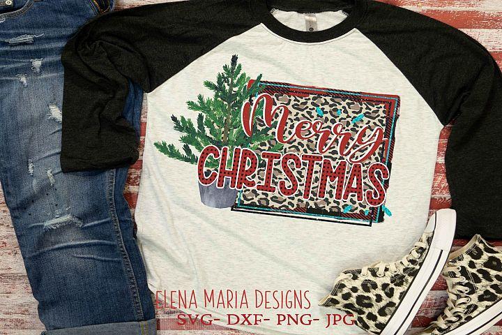 Merry Christmas Printable Sublimation Transfer