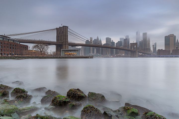 Financial District, Brooklyn bridge and Dumbo