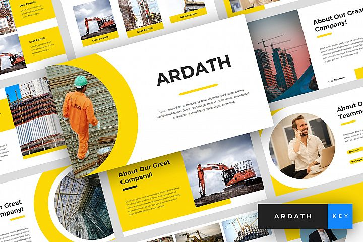 Ardath - Construction Keynote Template