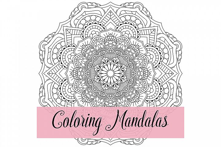 25 Mandalas for Coloring and Designs