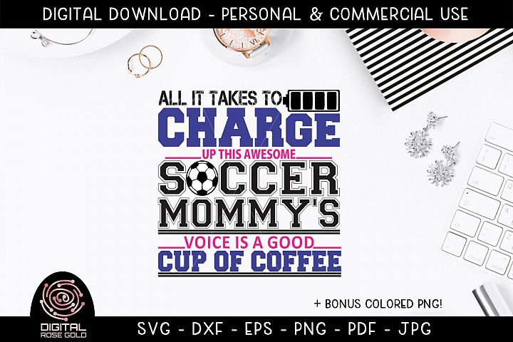 All It Takes To Charge This Soccer Mommys Voice Is Coffee