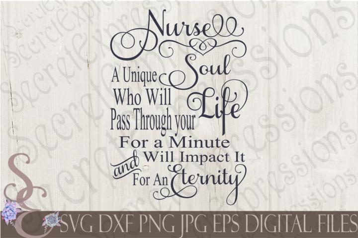 Nurse A Unique Soul
