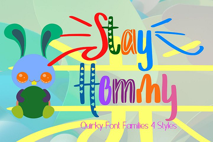 Stay Hommy Decorative Font
