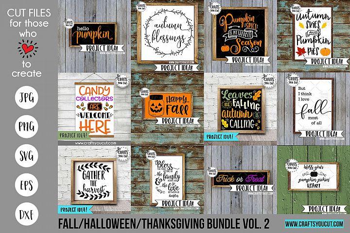 Fall/Halloween/Thanksgiving Vol. 2