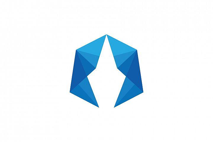 Polygon Logo - Letter A