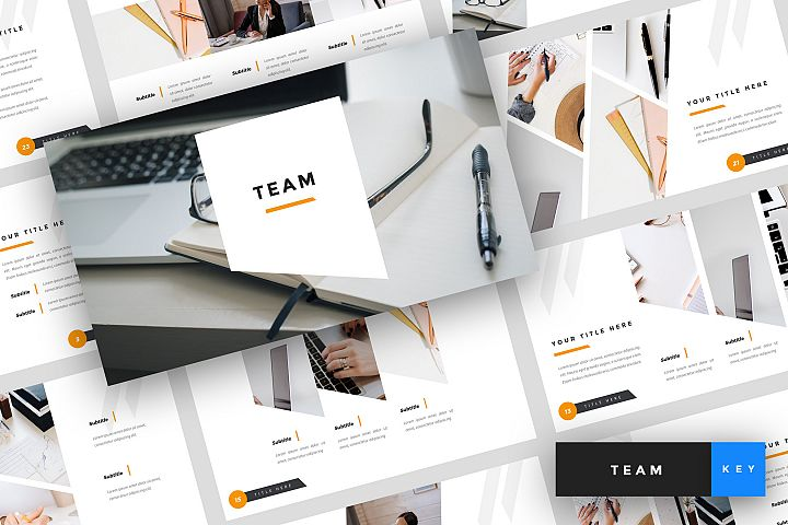 Team - Business Keynote Template