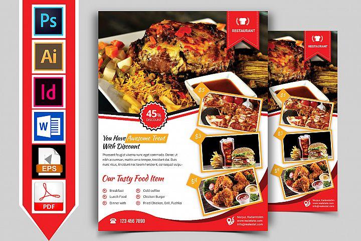 Restaurant Flyer. Vol-03