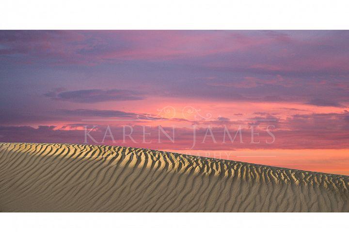 Sand Dune & Sunset