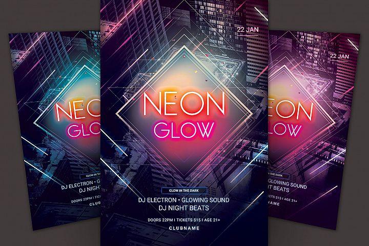 Neon Glow Flyer