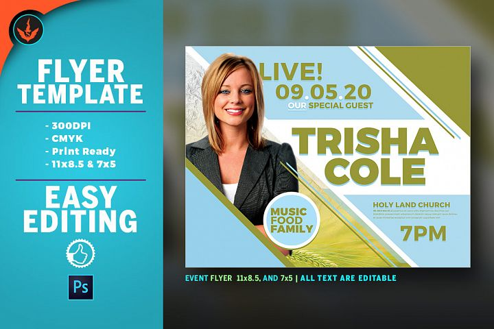 Special Guest Church Flyer Template