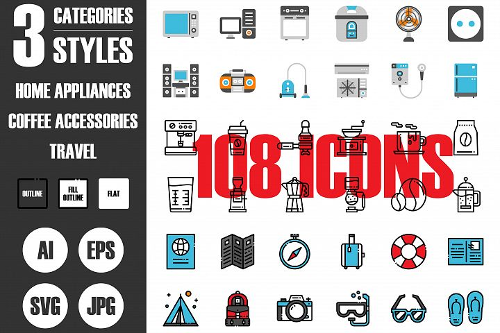 108 Pixel Perfect Icon Set Vol.2