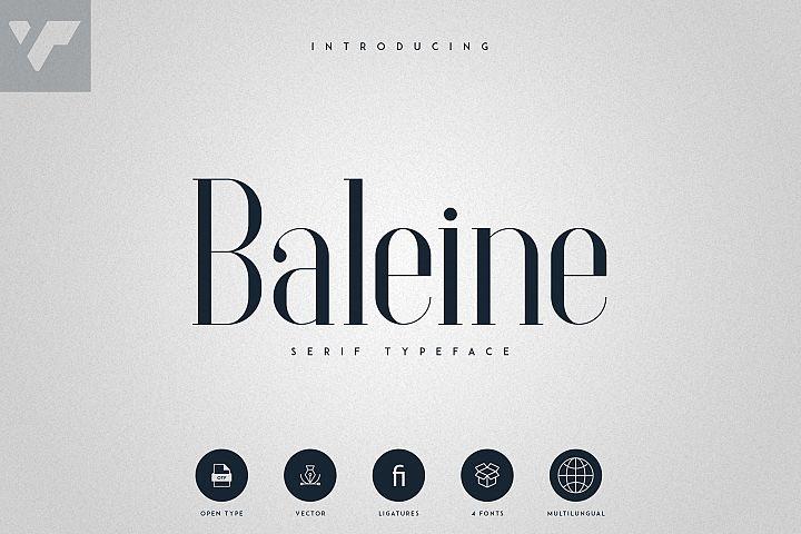 Baleine - Serif Typeface   4 weights