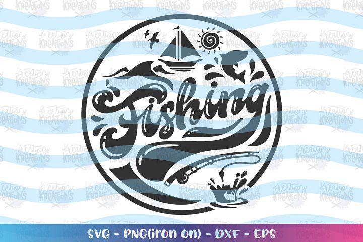 Fishing svg Fishing Elements svg