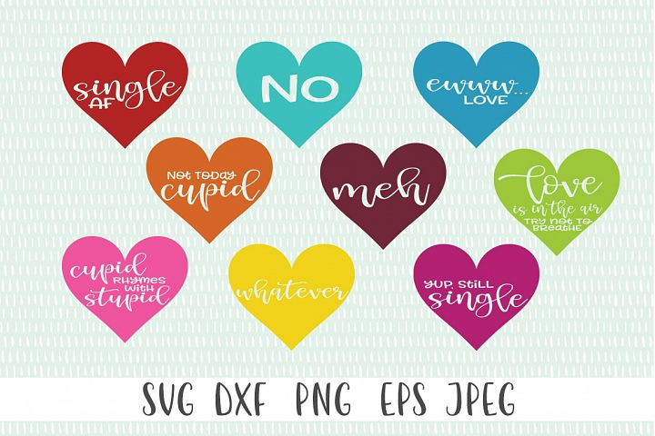 Anti Valentines Day SVG Bundle