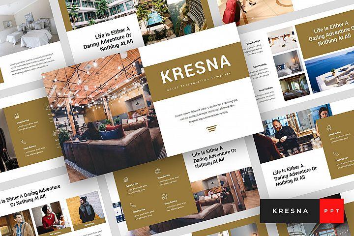 Kresna - Hotel PowerPoint Template