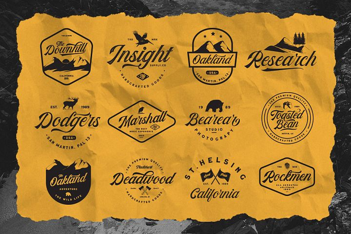 The Kingdrops - Font Duo & Logos example image 3