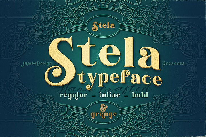 Stela - Display Font