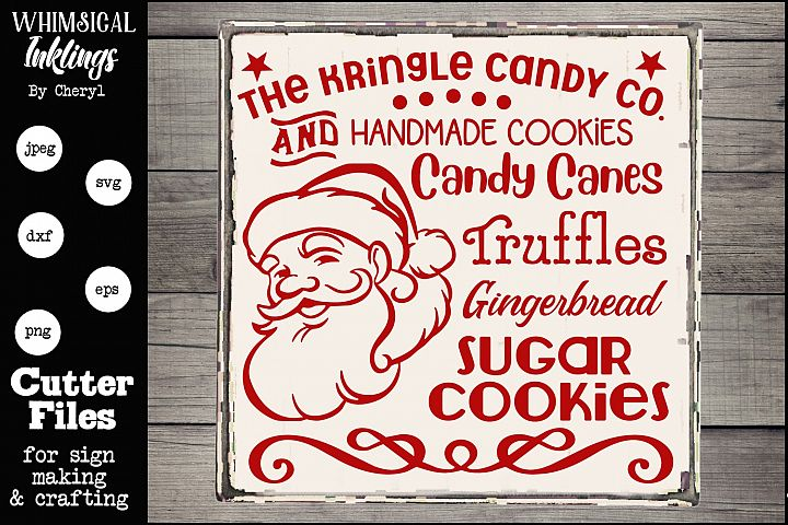 The Kringle Candy Co. SVG