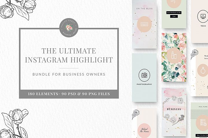 UPDATE Ultimate Instagram Highlight Set