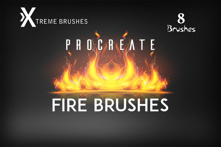 Procreate Fire Brushes!
