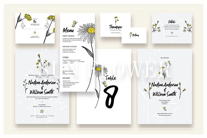 Sun Flower Wedding Suite Ac.11